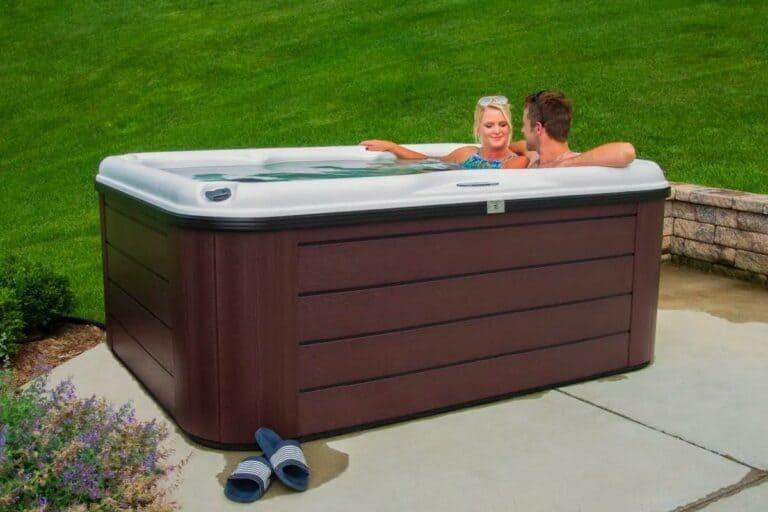 hot tub couple