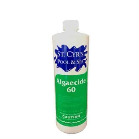 non-metallic pool algaecide 60