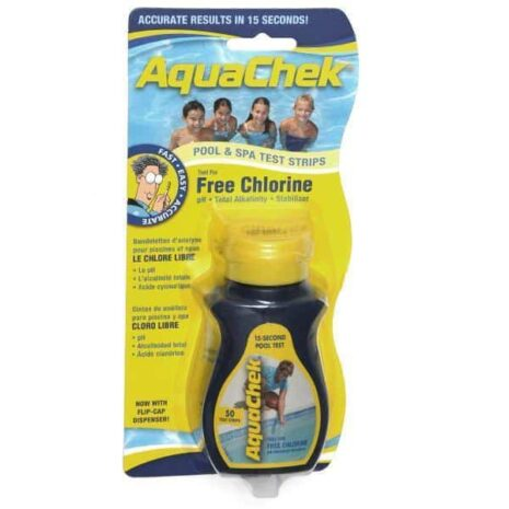 4-1 Chlorine Pool and Spa test Strips