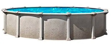 """The Distinction 52"""" Steel Pool in North Shore by St Cyr Pool and Spa"""