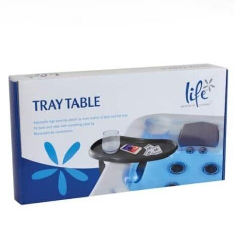Side tray table box large