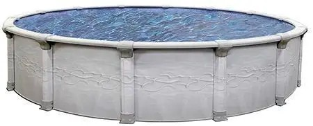 """The SuperNova 54"""" Resin Hybrid pool in North Shore by St Cyr Pool and Spa"""