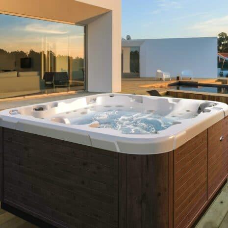 dimension one spas executive hot tub