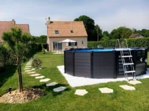pool installation in North Shore by St Cyr Pool and Spa